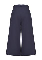 Pinko cropped wide-leg trousers