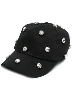 Pinko Reimagine 2.0 crystal-embellished baseball cap