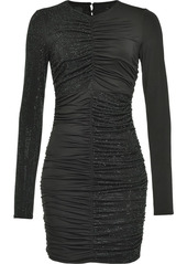 Pinko crystal-embellished fitted dress