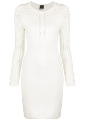 Pinko cut-detail mini dress