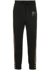 Pinko embellished logo track trousers