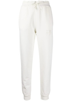Pinko embroidered-logo track trousers