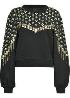 Pinko embroidered sweatshirt