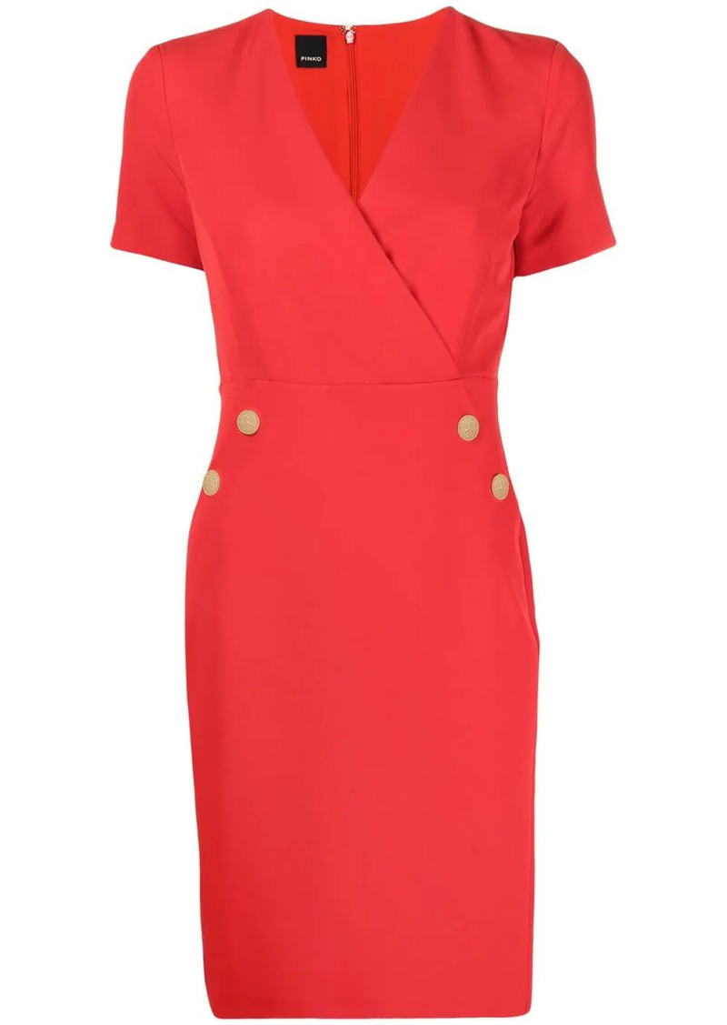 Pinko empire-line fitted dress