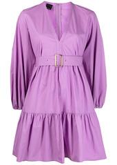 Pinko empire line gathered short dress