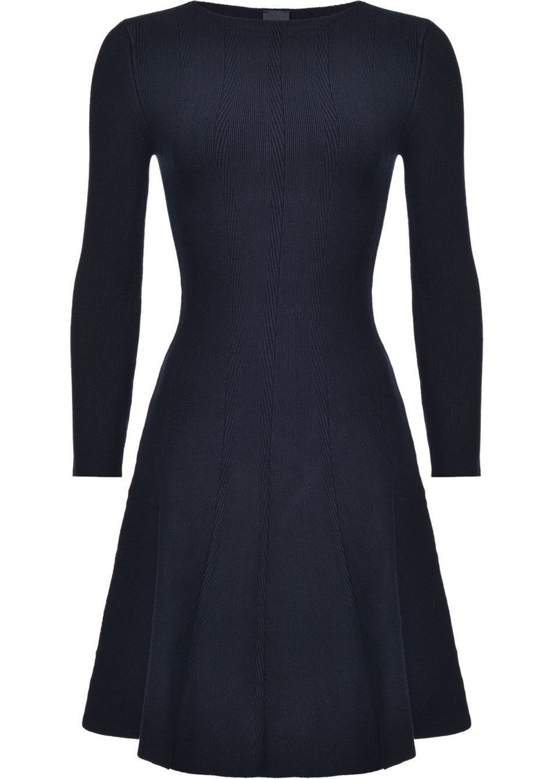 Pinko fitted flared dress