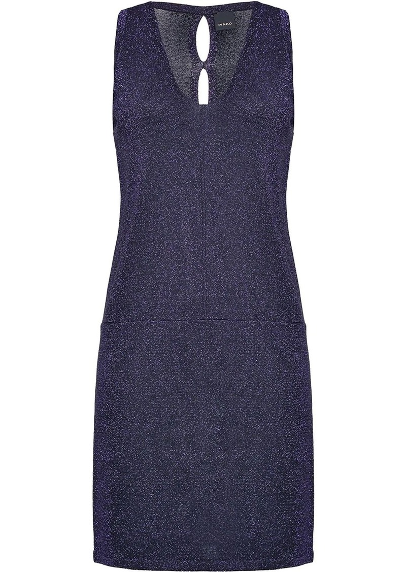 Pinko fitted v-neck dress