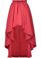 Pinko flared high-low hem skirt