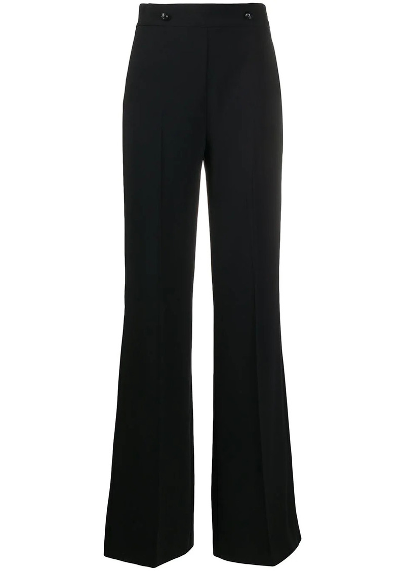 Pinko flared high waisted trousers