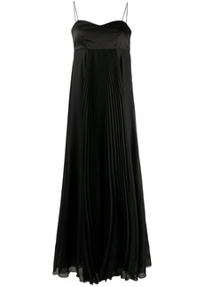Pinko flared maxi dress