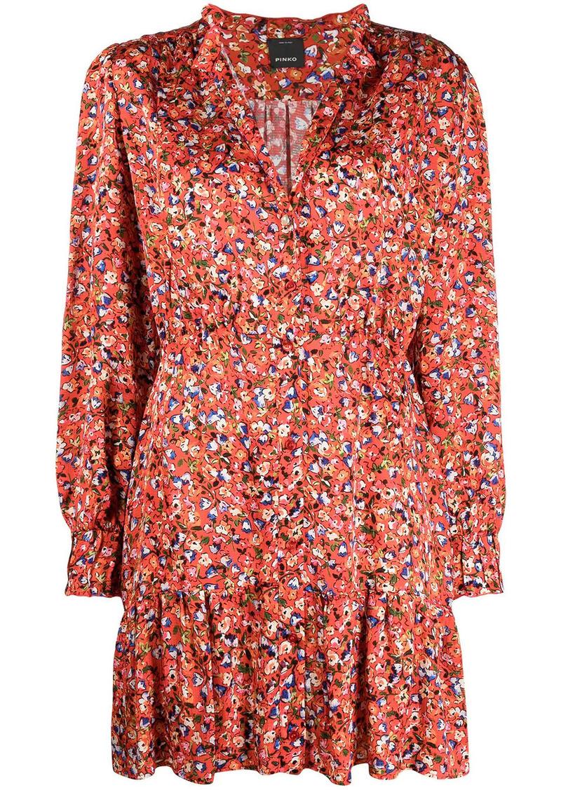 Pinko floral-print dress