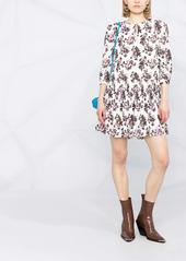 Pinko floral-print drop-waist dress