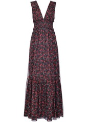 Pinko floral-print maxi dress