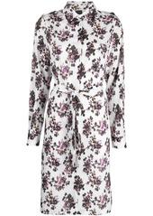 Pinko floral print shirt dress