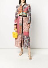 Pinko floral printed shirt dress