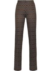 Pinko geometric print trousers