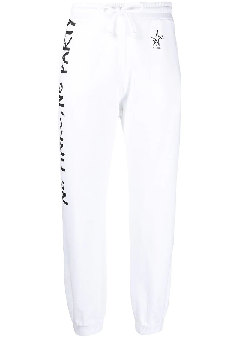Pinko graphic-print track trousers