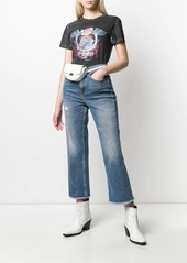 Pinko high rise flared jeans