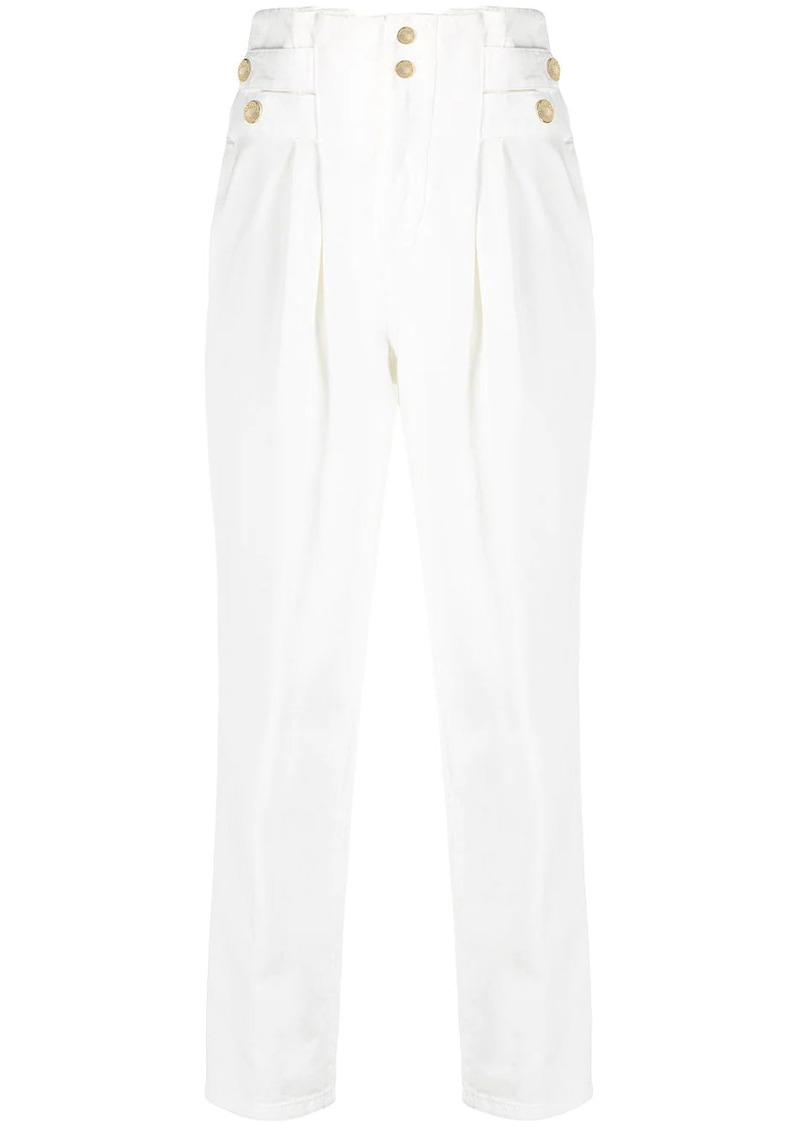 Pinko high-rise straight-leg jeans