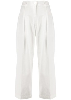 Pinko high-waist cropped trousers
