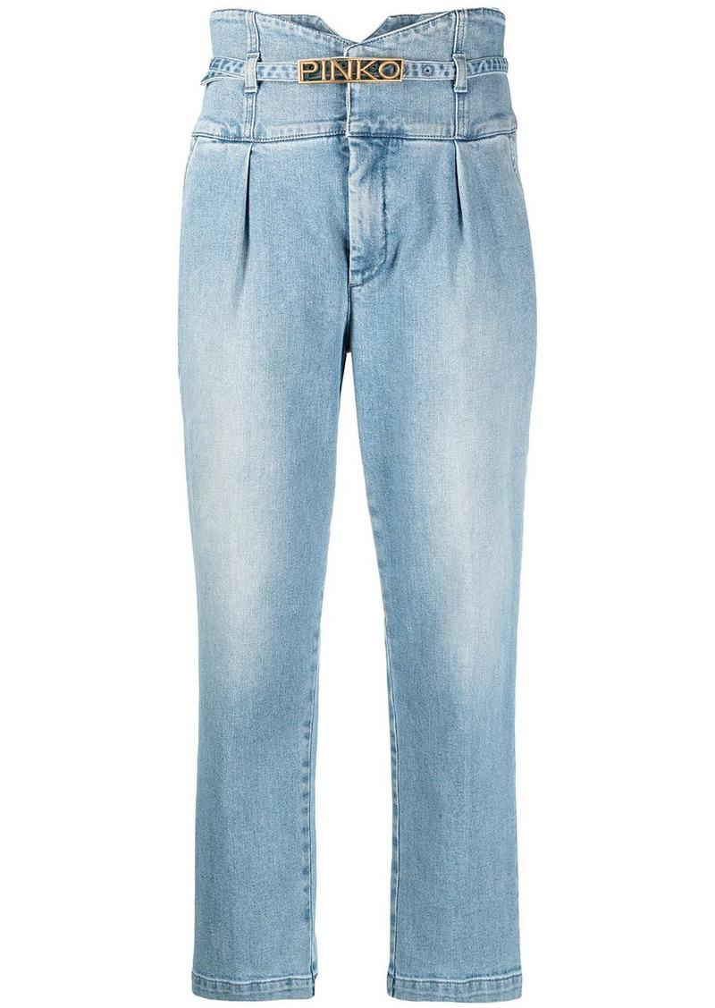 Pinko high-waisted jeans