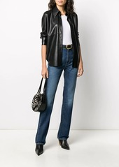 Pinko high-waisted straight leg jeans