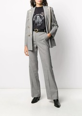 Pinko high-waisted straight leg trousers