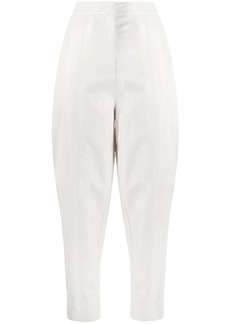 Pinko high-waisted tapered trousers