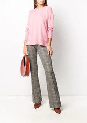 Pinko houndstooth check high-waisted trousers