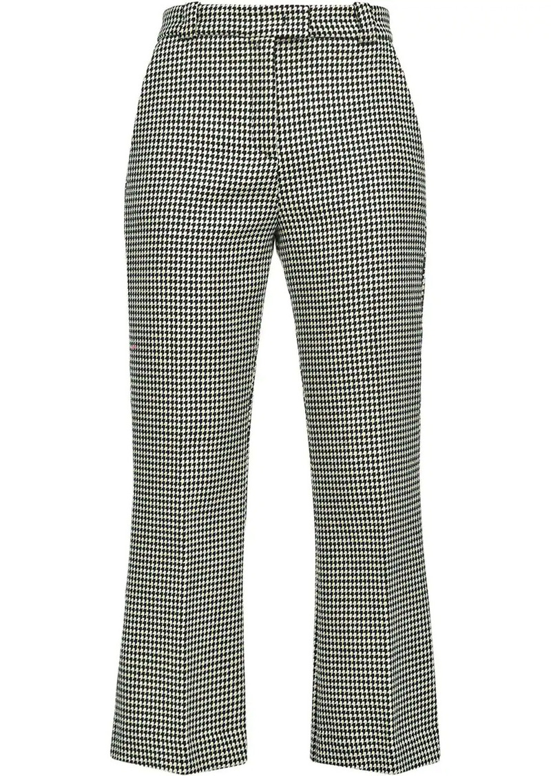 Pinko houndstooth slim trousers