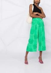 Pinko jacquard patterned culottes