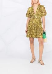 Pinko leopard-print flared dress