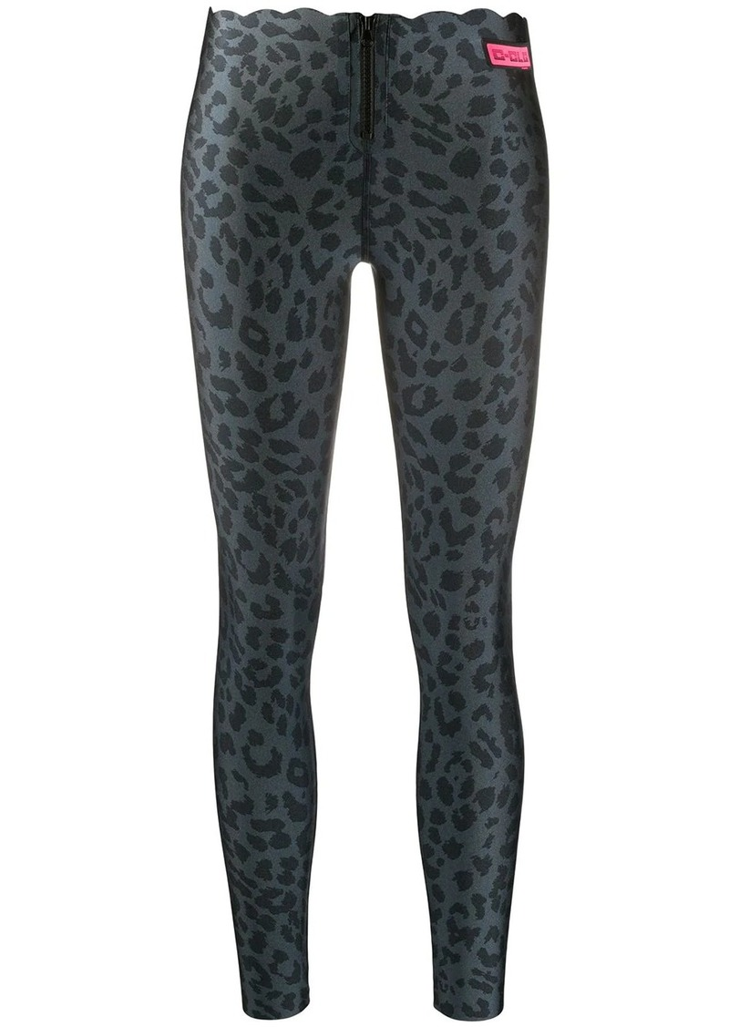 Pinko leopard print leggings