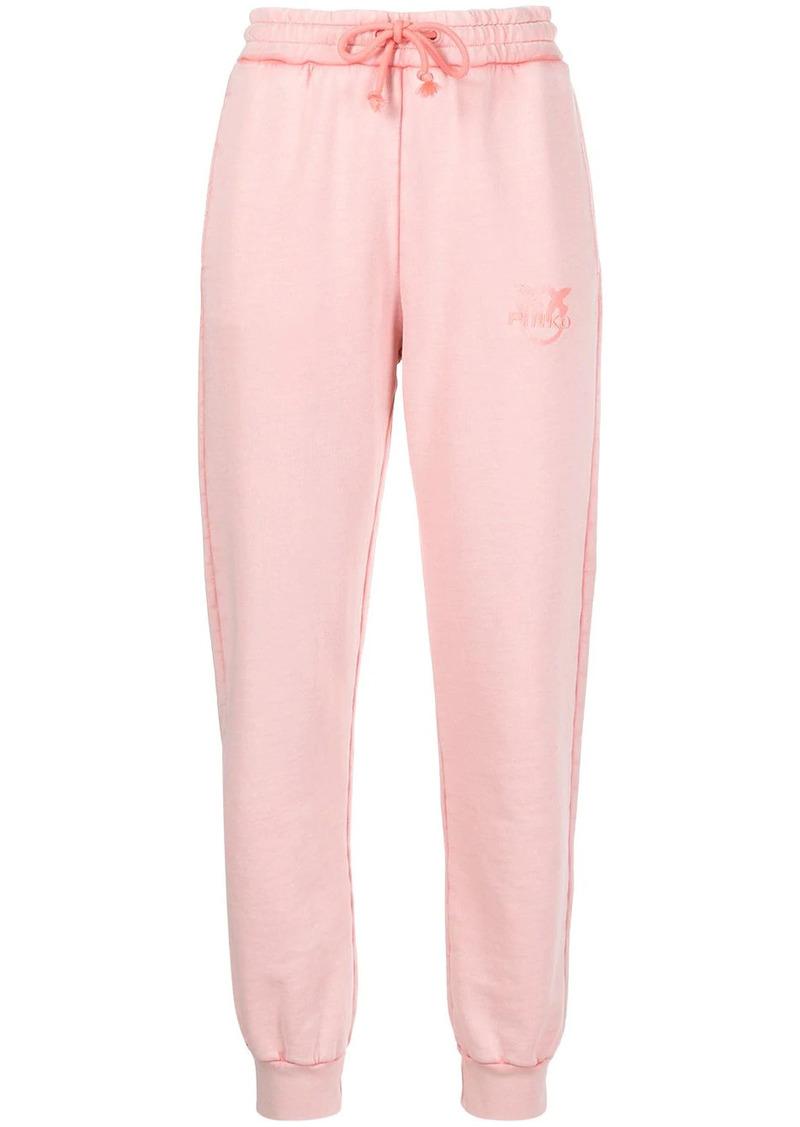 Pinko logo-embroidered track pants