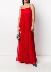 Pinko long empire line dress