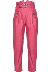 Pinko love birds buckle trousers