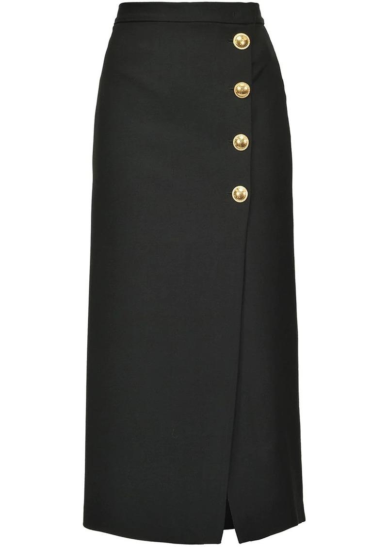 Pinko mid-length wrap skirt