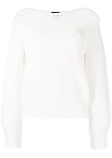 Pinko open-knit jumper
