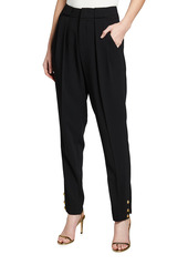 Pinko Pietro Pleated Front Button Detail Pants