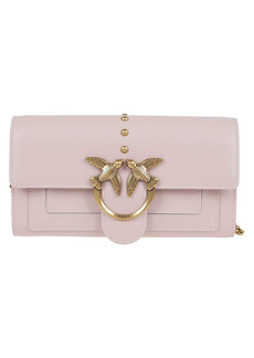 Pinko Pink Leather Wallet