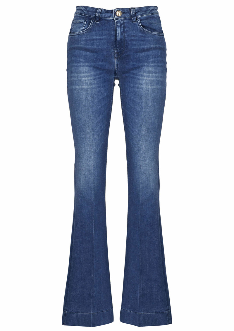 Pinko 5-pocket Flare Leg Jeans