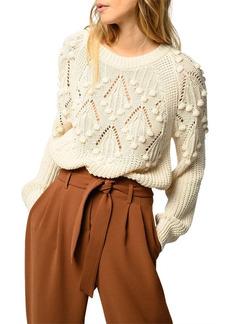PINKO Ingaggio Popcorn Stitch Sweater