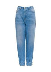 Pinko Jeans Con Dettaglio Perla Sul Fondo