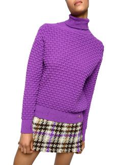 PINKO Lava Hopsack Mini Skirt