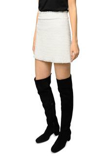 PINKO Lirico Tweed Mini Skirt
