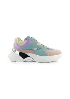Pinko Maggiorana 2 Turquoise Green Pink Lilac Sneaker