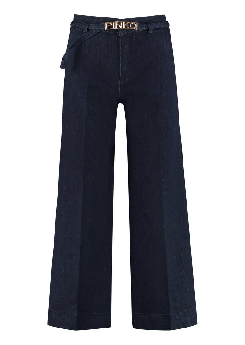 Pinko Peggy Wide Leg Jeans
