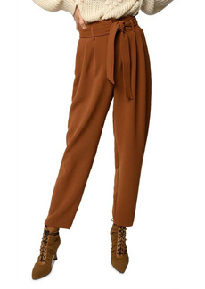 PINKO Raphaela Pleated Draped Trousers