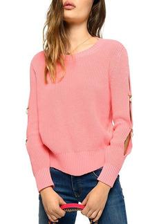 PINKO Regata Cutout-Sleeve Sweater