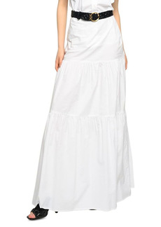 PINKO Sfavillante Tiered Maxi Skirt